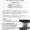 Programok a ripa Pannonica helyszínein 2012. nyár