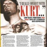Új Kerrang cikk: Fred és Kurt