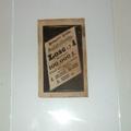 Szerencsejáték relikvia 1885.