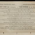 Svábhegyi fogaskerekü vasut - MENET-REND 1885. üzletszakra