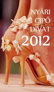 Nyári cipő divat - női cipő divat 2012