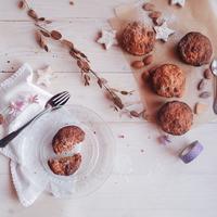 Süti-tízórai téli napokra: almás-répás muffin