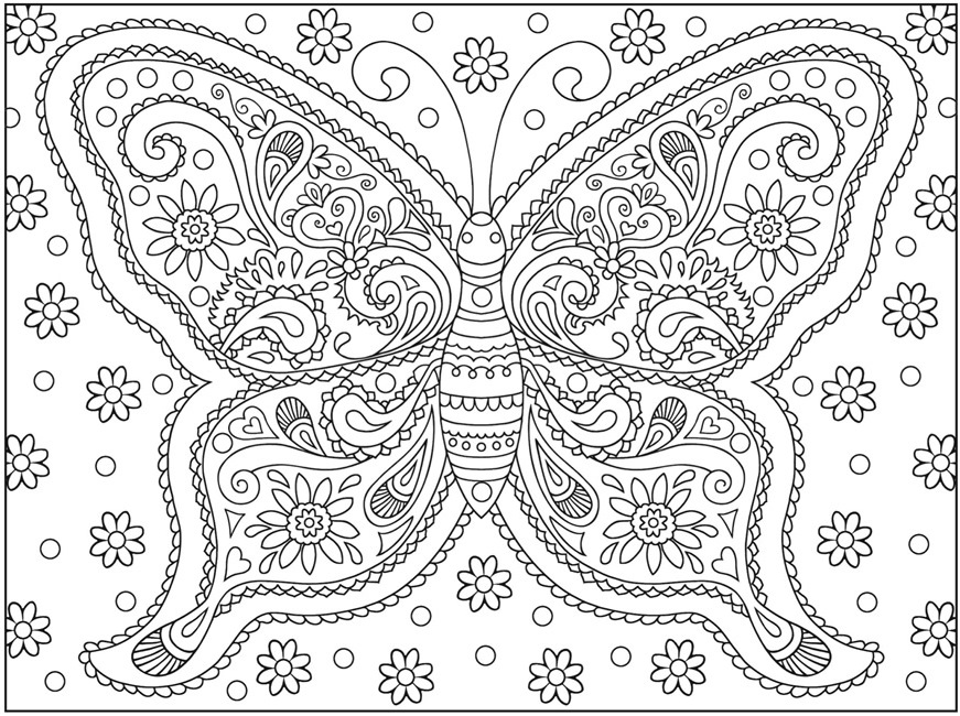 De Stressing Coloring Pages
