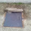 Pótolták az aknafedelet a pesterzsébeti vasútállomás mellett