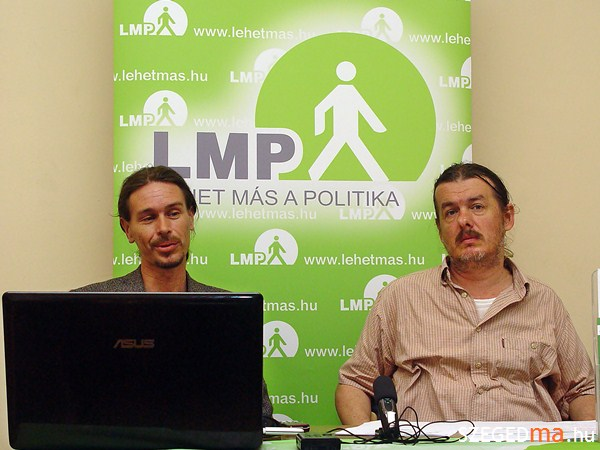 A Szeged Ma felvétele a sajtótájékoztatóról