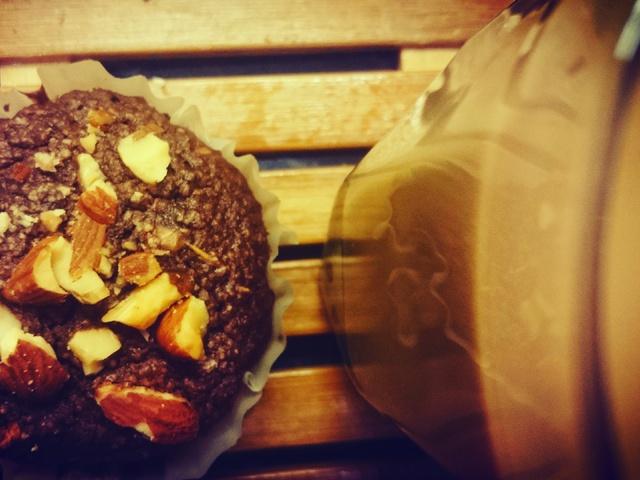 Csoda-csokis muffin az erdő ajándékával