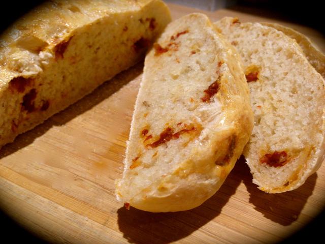 Aszalt paradicsomos ciabatta- a szenzációs olasz kenyér