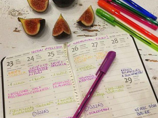 Így tervezd meg a fogyásod egy határidőnapló segítségével
