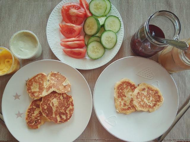 Túrós falatok reggelire