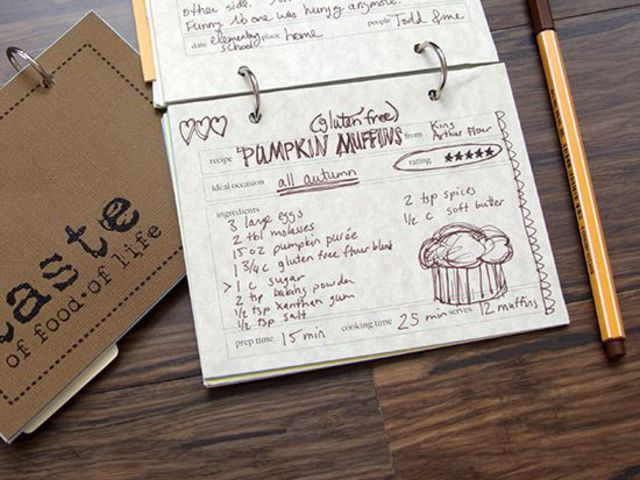 Így készíts egyedi szakácskönyvet