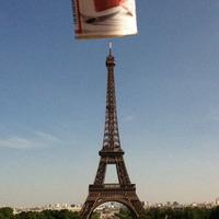 Löncshús az Eiffel-torony tetején