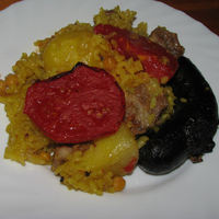 Arròs al forn - valenciai sült rizs
