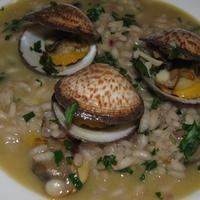 Kagylós rizottó