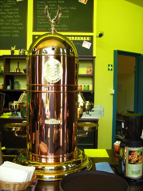 Elektra kávégép