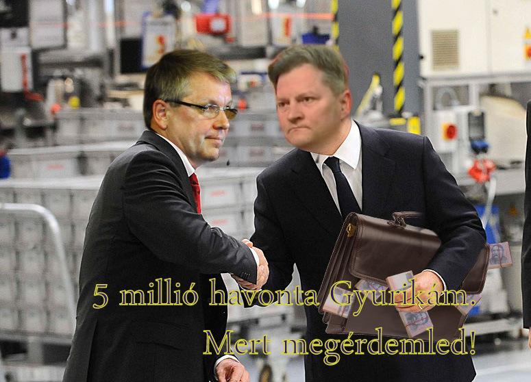 Kucsák újra megszavazta Matolcsy 5 milliós fizetését!