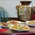 Nyáresti szecsuáni vacsora Wangnál