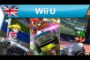 Mario is Mercedesszel nyomul