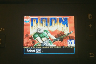 Már lézernyomtatón is lehet Doomot játszani