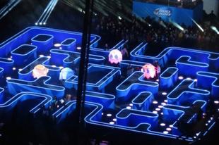 Életre kelt Pac Man Los Angelesben