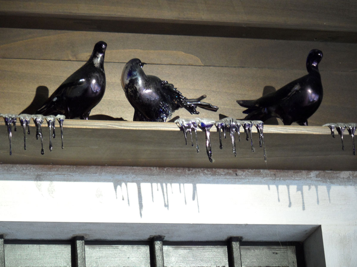 Jan Fabre: Shitting Doves of Peaces and Flying Rats (2008)