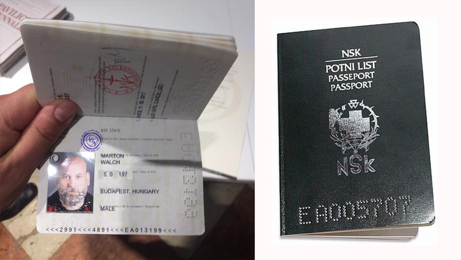 NSK-útlevél