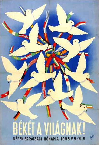 Filo 1958-as békeplakátja