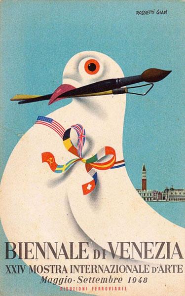 Rosetti Gian 1948-as Biennále-plakátja