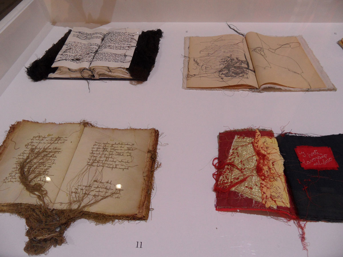 Maria Lai: Scalp Book (1980)