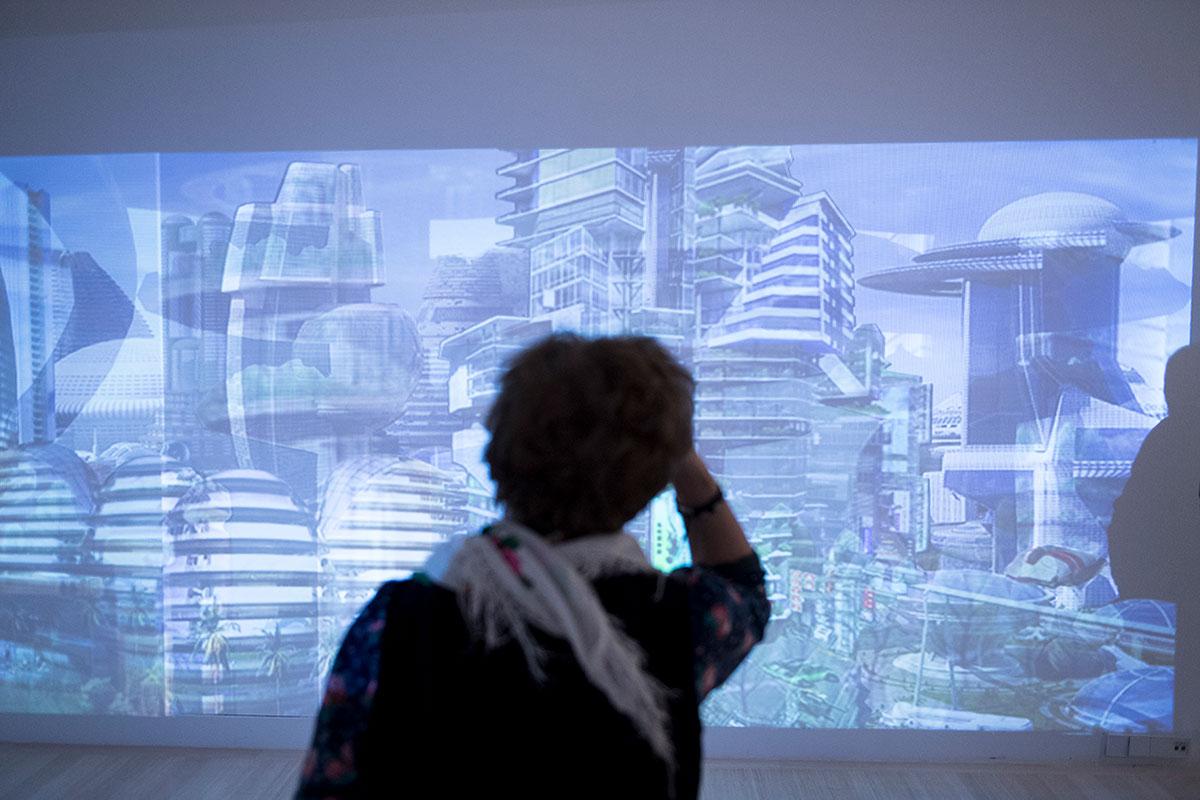 Várnai Gyula: Láthatatlan városok, 2017 | fotó: Glódi Balázs