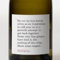 Címke design - Fogd a nyuszira, de a borra semiképp