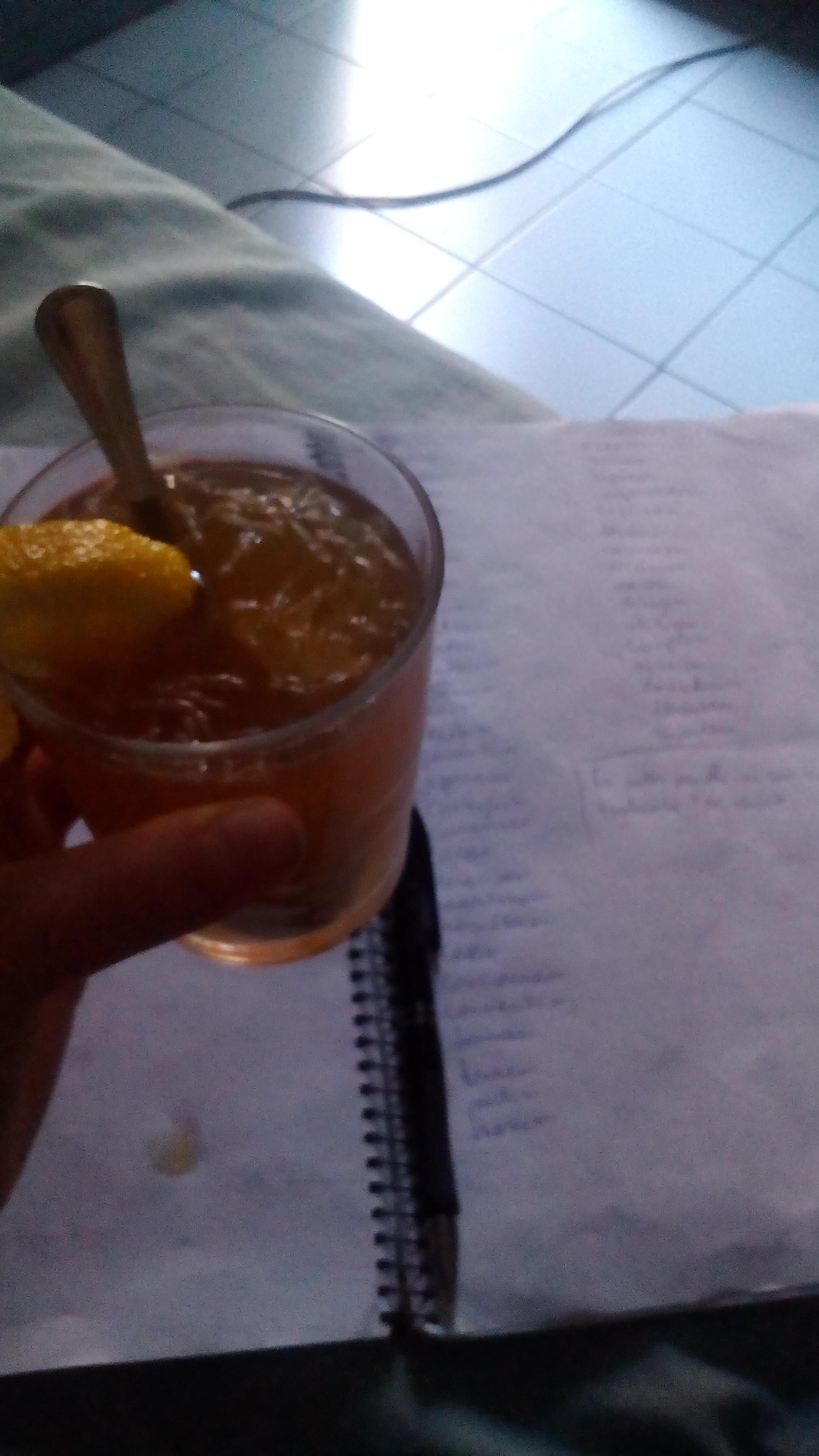 meleg citromos mézes tea és spanyol tanulás