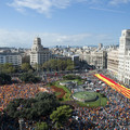 Tényleg sokan kiálltak tegnap a spanyol egység mellett