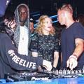 Madonna Diplóval és Skrillexszel bulizott