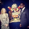 Madonna találkozója Malawi elnökével, Peter Mutharikával