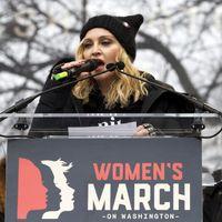 Madonna Women's March-beszéde magyar fordítással