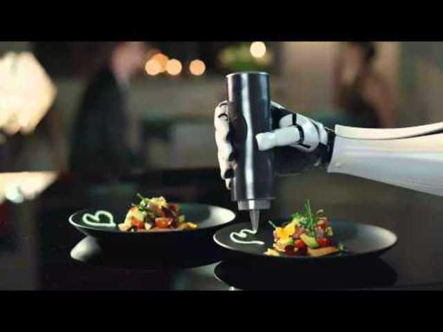 Robot forradalom a konyhákban