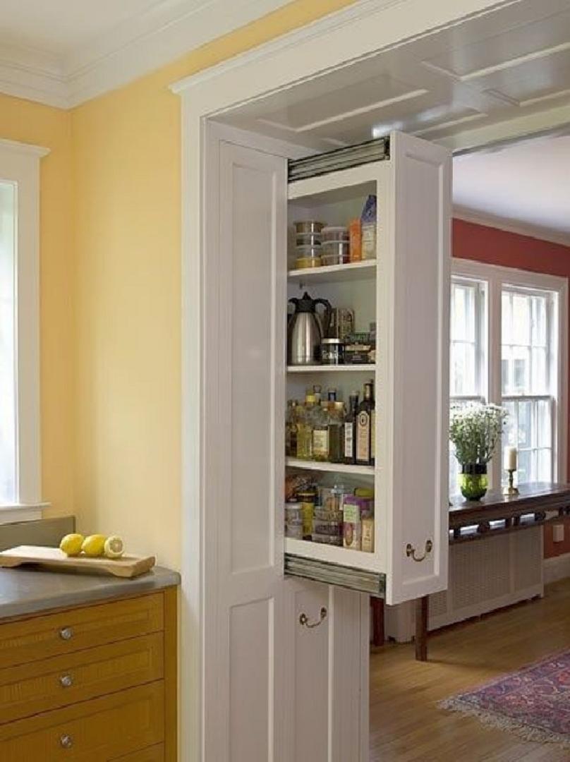 Az igazi beépített szekrény