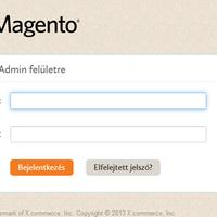 Új admin felület a Magento 2.0-ban
