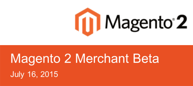 Magento 2 Merchant Beta version 1.0.0-beta