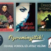 Nyereményjáték: Atlantic Press magyar könyvek