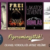 Nyereményjáték: Ulpius-ház magyar könyvek
