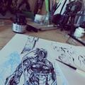 Bloodlust képregények az Instagramon