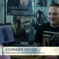 A Bloodlust képregényekről is szó volt a Magyar Krónika - Kibervilág című adásában