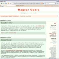 3 éves a Magyar Opera