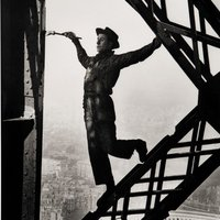 Kép-kockák #5 - Marc Riboud: Az Eiffel-torony festője (1953)