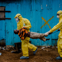 Az ebola és a fergusoni zavargások a téma az idei Pulitzer-díjas képeken