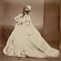 A divatfényképezés történetének legelső fotómodellje