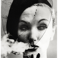 William Klein:  Evelyn Tripp, Párizs, 1958