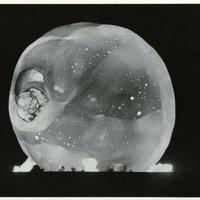 Harold Edgerton atomrobbanásról készült különleges képei