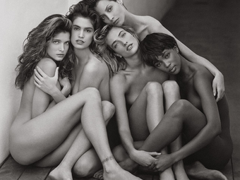Variációk - Herb Ritts: Stephanie, Cindy, Christy, Tatjana, Naomi (1989)
